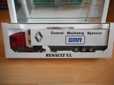 """Eligor / LBS Renault AE 500 Magnum + Trailer """"GMA"""" in Red/White on 1:43 in Box"""