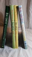 4 Bon Appetit cookbooks - Flavor of BA 2003 & 2004, Weekend Entertaining, Outdoo