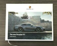 2020 PORSCHE 992 Series 911 S & C4S HARDCOVER BROCHURE NEW