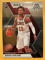 2019-20 Panini Mosaic Darius Garland NBA Debut Rookie Card #262 - MINT! WOW!!