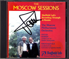 Dmitri KITAYENKO Signed MOSCOW SESSIONS Barber Piston Shostakovich SHEFFIELD LAB