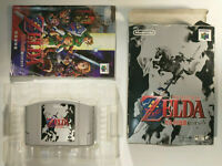 Legend of Zelda Ocarina of Time Complete Box CIB (Nintendo 64 N64, 1998) Japan