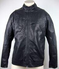 G-STAR RAW Hamzer BIKER JACKET Hommes Veste Blouson Taille XXL Black neuf avec étiquette