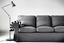 Housses de canapé, fauteuil, et salon gris pour la maison Canapé 3 places