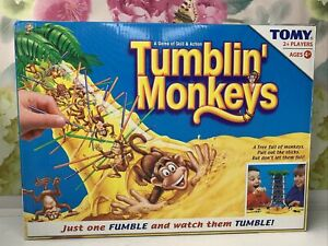 TUMBLIN' MONKEYS A GAME OF SKILL AND ACTION FROM TOMY - Complete