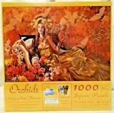 Sunsout 67636 Orchids 1000 piece jigsaw puzzle, Nene Thomas, sealed