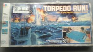 Torpedo Run  Board Game from Milton Bradley