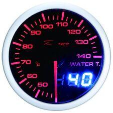 52mm Celsius Depo Digital water temperature gauge White Red Lens WA5237LED-Cel
