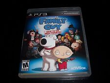 Replacement Case (NO GAME) FAMILY GUY: BACK TO THE MULTIVERSE PLAYSTATION 3 PS3