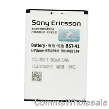 Genuine Sony Ericsson BST-41 Battery For Xperia X10 X10i R800 Play X1 X2 X5  NEW