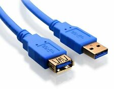 6 FT 1.8M USB 3.0 A Male to Female Extension Data Sync Cord Cable 5Gbps  NEW