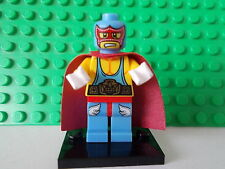 Genuine Lego Minifigura El Super Luchador de serie 1 Rara