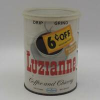 Vintage Luzianne Coffee Tin Advertising Packaging
