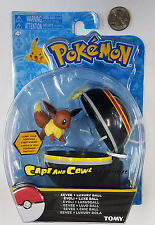 """Tomy Pokemon Clip N Carry EEVEE and LUXURY BALL 2"""" Action Figure MOC 2017"""