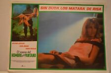 Lot (4) RARE Return of Swamp Thing Movie Posters in Spanish W/Heather Locklear