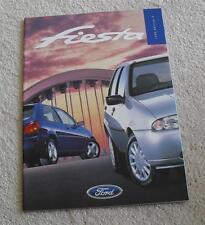 Ford Fiesta Brochure 1998 - Encore Ghia Zetec LX 1.4 1.25 16v 1.3 1.8D