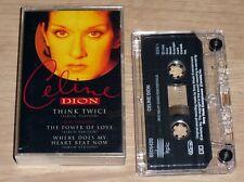 CELINE DION Think Twice (1994) UK 3 Track Cassette Single inc. Power Of Love