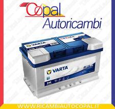 BATTERIA AUTO EFB START&STOP VARTA E46 12V 75Ah AMPERE 730A SPUNTO