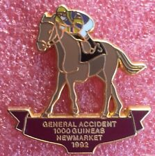 Pins Cheval Turf Hippisme Course GENERAL ACCIDENT 1000 GUINEAS NEWMARKET 1992