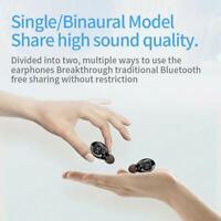 Mini Earbuds Headset Wireless Bluetooth 5.0 Earphone Stereo LED Headphone A3W9