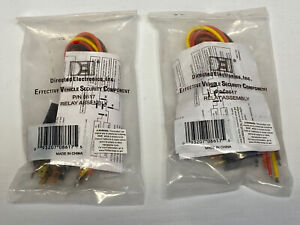 DEI P/N 8617 (525) Relay Assembly (Lot of 2)