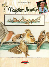 The Pecking Order Counted Cross Stitch Color Chart Leaflet Marjolein Bastin 3167