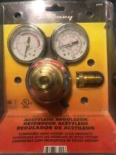 Victor Style Heavy Duty Forney 87101 Acetylene Regulator