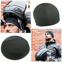 UK Quick Drying Unisex Hat Cycling Skull Cap Bike Motorbike Under Helmet Liner