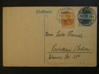 1921 Landsberg am Lech Saxony Germany Postcard Cover