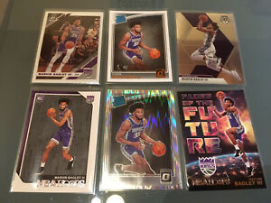 Marvin Bagely III Rookie Card Lot. RC. Shock Rated Rookie. Hoops. Donruss