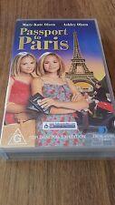 PASSPORT TO PARIS - MARY-KATE OLSEN, ASHLEY OLSEN  VHS  VIDEO TAPE