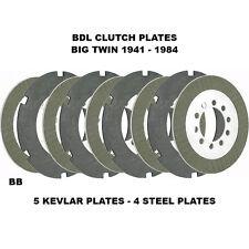 BDL Clutch Plates 1941-1984 Harley-Davidson Shovelhead / Pan / Knucklehead BTX-5
