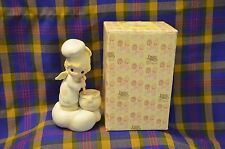 Vintage 1983 ENESCO Precious Moments Taste&See that the Lord is Good Figure/Box