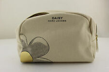 Daisy Marc Jacobs Beauty Pouch Makeup Bag Gold Accent New in Box