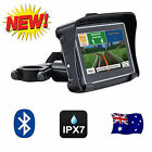 "NEW 4.3"" Inch Waterproof GPS 8GB Bluetooth FM Motorcycle & Car Latest Maps"