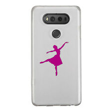 2X Ballet Dancer Sticker Die Cut Decal for mobile cell phone Smartphone Decor