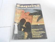 APRIL 1974 ESQUIRE mens fashion magazine ROMANCE