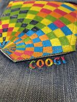 Coogi Jeans Blue Denim Embroidered Bootcut Stretch Jeans Size 18