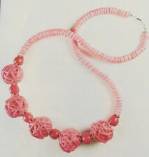 Jilly Beads Rose Petal Beach Babe Necklace Jewelry Making Kit Pink