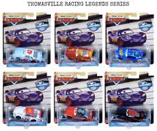CARS 3 - THOMASVILLE RACING LEGENDS Full Set of 6 - Mattel Disney RARISSMO