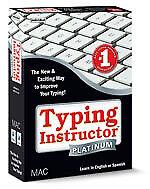 Individual Software Typing Instructor Platinum 21.0 (Mac)