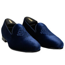 NEW ZILLI DRESS SHOES 100% VELVET SIZE 10 US 43 EU  ZSU20