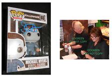 John Carpenter signed Halloween Michael Meyers funko vinyl figure photo proof