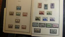 Belgium stamp selection on various pages + w/ est. 700