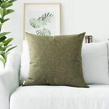 """Kevin Textile Decorative Hand Made Lined Linen Throw Pillow Cases (25"""" x 25"""")"""