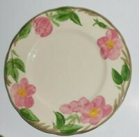 "FRANCISCAN DINNERWARE Desert Rose 8"" Salad / Dessert  Plate Made in England"