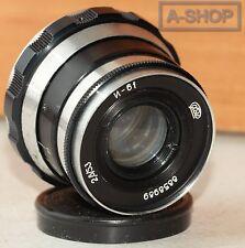 "INDUSTAR-61 ""ZEBRA"" 2.8/53mm Leica lens M39 Zorki FED RF made in USSR"