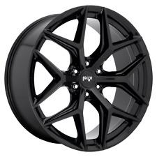"4 Wheels Niche 1Pc VICE SUV Gloss Black 24x10"" Rims Chevy GM Toyota 6X5.5+30"