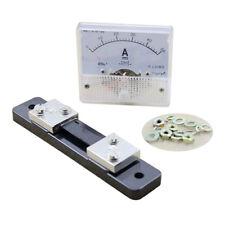 DC 0-50A Analog Amp Meter Ammeter Current Panel + 50A 75mV Shunt Resistor H1L2