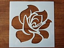 ROSES AND FLOWERS STENCIL 130mm x 130mm